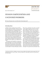 Pension participation and uncovered workers