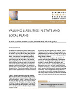 Valuing liabilites in state and local plans
