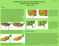 Reducing food insecurity