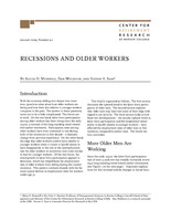 Recessions and older workers
