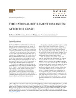 The National Retirement Risk Index