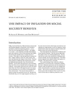 The impact of inflation on Social Security benefits