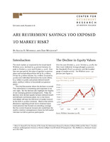 Are retirement savings too exposed to market risk?