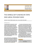 The miracle of funding by state and local pension plans
