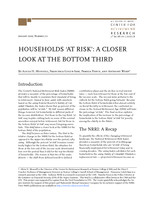 Households 'at risk'