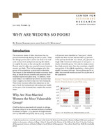 Why are widows so poor?