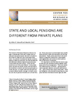 State and local pensions are different from private plans