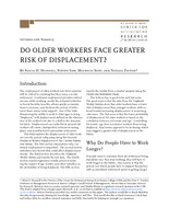 Do older workers face greater risk of displacement?