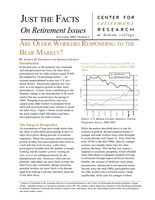 Are older workers responding to the bear market?