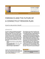 Forensics and the future of a Connecticut pension plan