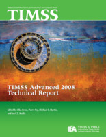 TIMSS advanced 2008 technical report