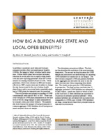 How big a burden are state and local OPEB benefits?