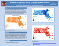 Analysis of Donald Trump's victory in Massachusetts