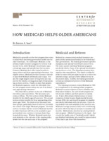 How Medicaid helps older Americans