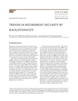 Trends in retirement security by race/ethnicity
