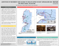 Limitation of movement and access to health sites in East Jerusalem and the West Bank, Palestine