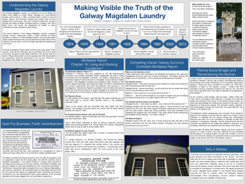 Making visible the truth of the Galway Magdalen Laundry