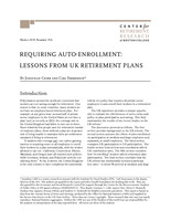 Requiring auto-enrollment