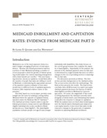 Medicaid enrollment and capitation Rates