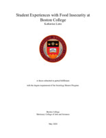 Student Experiences with Food Insecurity at Boston College