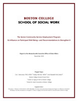 The  Senior Community Service Employment Program